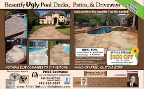 Pea Gravel Concrete Patio concrete patio archives allied outdoor solutions