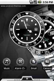 clock themes for android mobile rolex android theme iphone android downloads