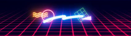 80s design 80s neon shapes wallpapers on behance