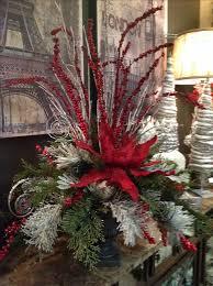 christmas arrangement ideas best 25 christmas floral arrangements ideas on