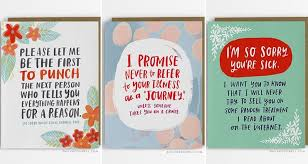 card for sick person 10 meaningful and honest empathy cards to send to who