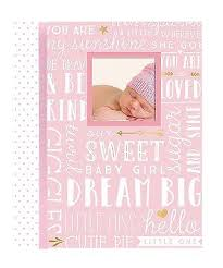 baby girl memory book lil big wordplay baby girl memory book pink 46
