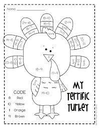 solving equation thanksgiving worksheets u2013 festival collections