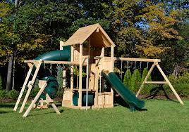 Backyard Play Systems by Cedar Swing Sets Canterbury Loaded By Triumph Play Systems