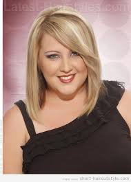 most flattering hairstyles for double chins short hairstyles for fat faces and double chins 005 hair