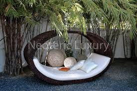 Modern Patio Furniture Miami Modern Outdoor Daybed Furniture Design Sculptural Collection By