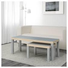 lack nesting tables set of 2 gray ikea