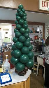 i was bored so i made a christma tree out of balloons album on