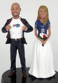 football wedding cake toppers custom football themed wedding cake topper wedding cake
