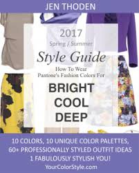 trending color palettes bright cool deep 2017 spring summer pantone color style guide