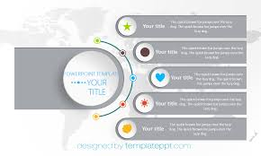 Powerpoint World Map by Horizontal World Map Timeline Design For Powerpoint Free