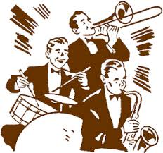 swing jazz 1940s musicians clip swing jazz big band the in the