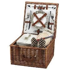 Picnic Basket Set For 2 42 Best Willow Picnic Baskets For 2 Images On Pinterest Picnic