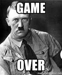 Game Over Meme - game over hitler meme generator