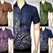 desain baju batik pria 2014 toko batik online baju batik modern motif lurik kemeja batik