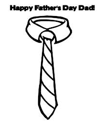 tie coloring page vitlt com