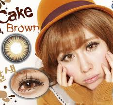Light Brown Contact Lenses Cosmetic Colored Contact Lenses Max Eye Cupcake Brown Brown