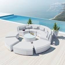 round sectional sofas foter