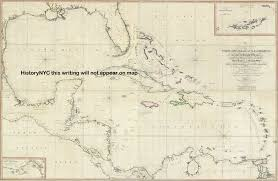 Map Of West Indies Welcome To Historynyc Historical Maps Poster Books And Custom