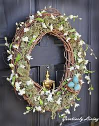 pottery barn wreath knock by creatively living