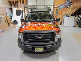 Ford F150 Truck Wraps - fireplaces plus ford f150 full vehicle wrap coastal sign