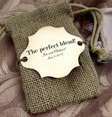 burlap wedding favor bags burlap wedding favor bags the blend could make tea or