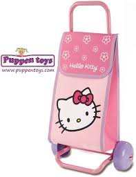 shopping cart kitty peppa pig smoby juguetes puppen toys