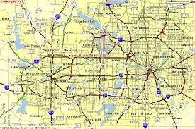 map of dallas fort worth dallas fort worth metro map travel map travelquaz com