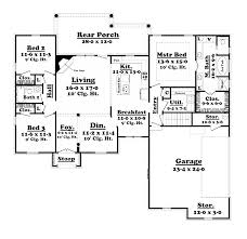 Floor Plan Of Graceland 48 Acadian Home Plans With Open Floor Plans House Plan Country