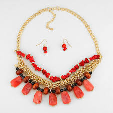 natural stone statement necklace images Bright and bold statement baubles jpg