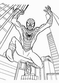 spiderman printable coloring pages good art