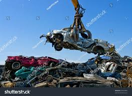 auto junkyard germany crane picking car junkyard stock photo 39324805 shutterstock
