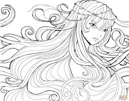 coloring pages anime anime girls coloring pages free coloring