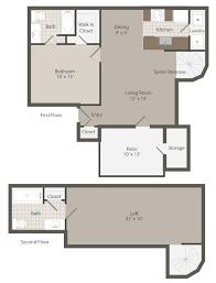athens ga apartments 1287 shoals floorplans