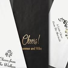 wine bottle gift bags personalized 5 x 16 paper