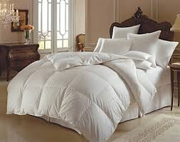 luxe a luxurious white goose down comforter lyocell cover