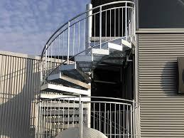 treppen gitterroste metallbau meier in passau treppen aus edelstahl und stahl