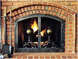 Arched Fireplace Doors by Fireplace Editions Fireplace Enclosures