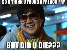 Mr Chow Meme - mr chow hangover memes imgflip