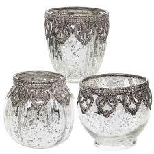 vintage tea light holders vintage lace tea light holders lanterns candle votive silver