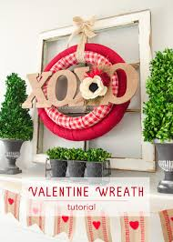 craftaholics anonymous diy double valentine wreath tutorial