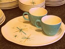 vintage starburst dishes 1 the borrowed abodethe borrowed abode