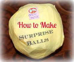 tutorial how to make surprise balls the best christmas or birthday