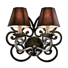 Quoizel Wall Sconce 2 Light Wall Sconce Quoizel Lighting Nbe8702rk Noble In Rustic