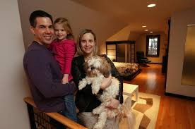 Molly Luetkemeyer by Room At The Top Couples Convert Attic Spaces Into Cozy Quarters
