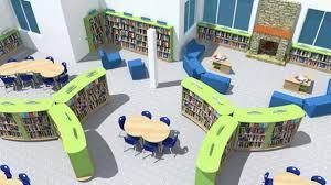 Library Interior Design Library Design Service