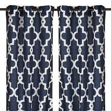 Navy Patterned Curtains Great Navy Patterned Curtains And 52 Best Curtains Target