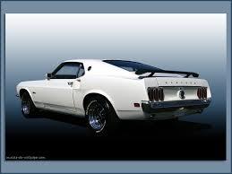 1969 mustang rear 1969 ford mustang wallpaper white fastback
