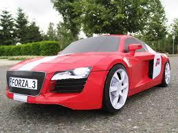 pink audi r8 audi r8 forza motorsport papercraft supercar visualspicer com