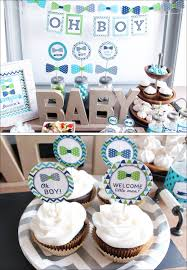 Welcome Home Baby Party Decorations Bow Tie Baby Shower You Can Find Out The Supplies I Used And See